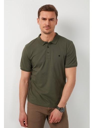 Buratti Buratti Polo Yaka Erkek T-Shirt 0438101 Haki